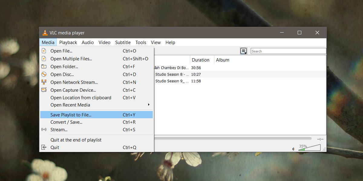 how to save a playlist in vlc player on windows 10 1 How to save a playlist in VLC player on Windows 10