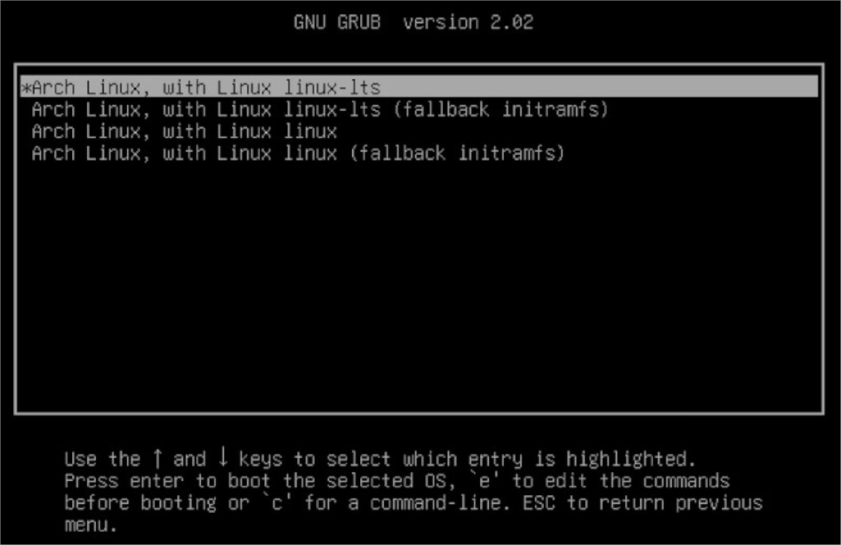 how to switch to the lts kernel in arch How to switch to the LTS kernel in Arch Linux