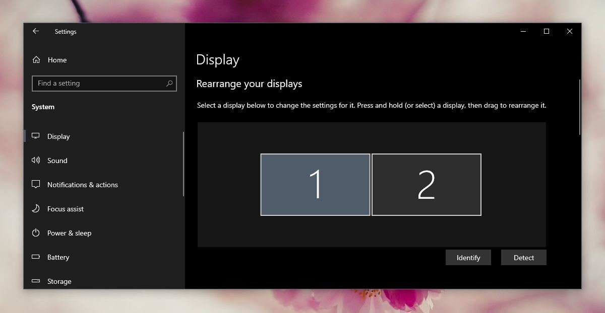 how to arrange multiple monitors on windows 10 1 How to arrange multiple monitors on Windows 10