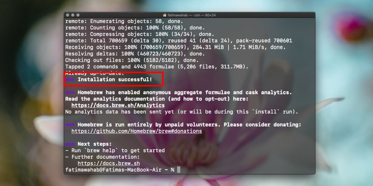 how to install homebrew on macos catalina 3 How to install Homebrew on macOS Catalina