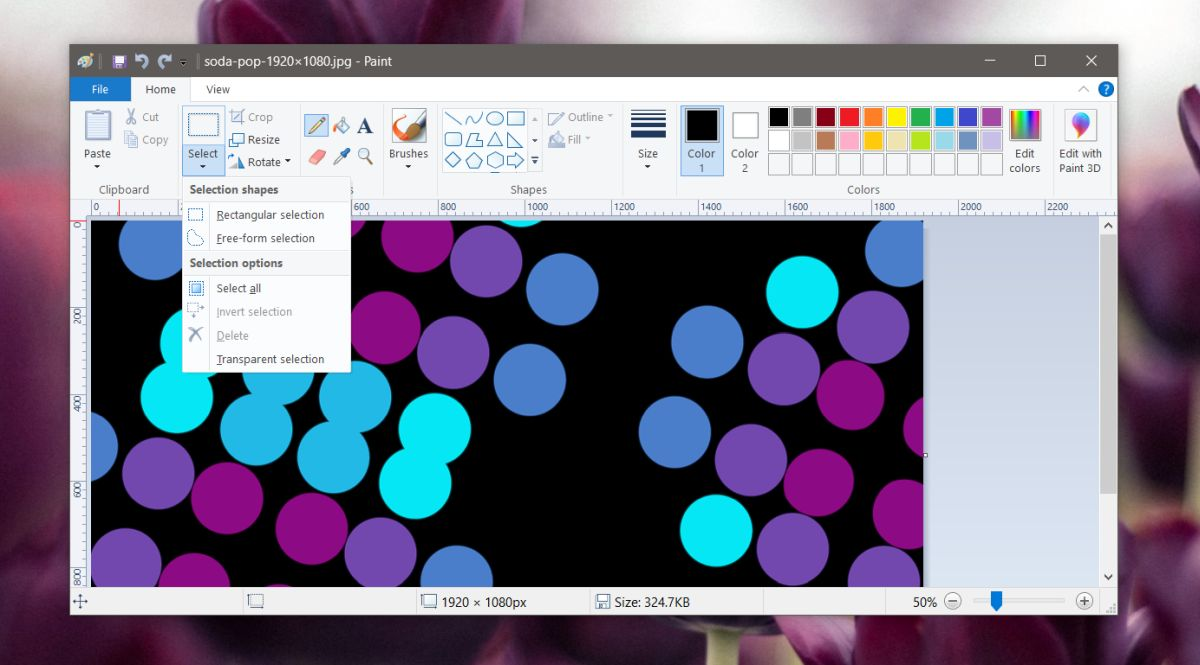 how to make background transparent in paint windows 10 How to make background transparent in Paint (Windows 10)