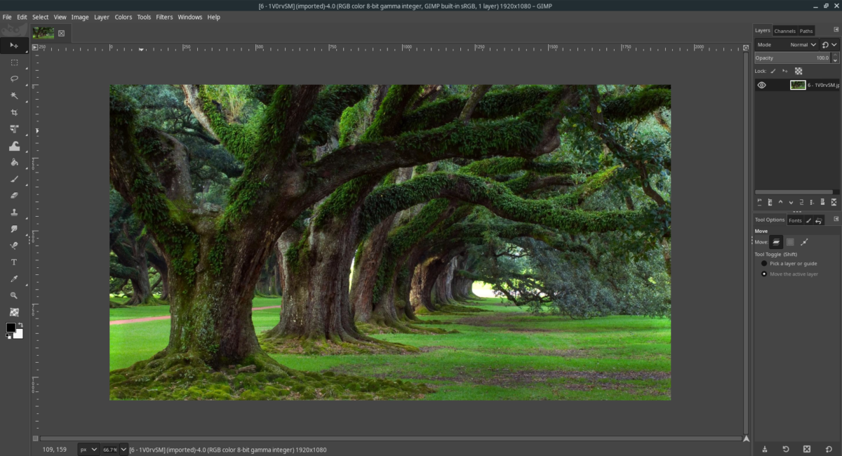 how to make gimp look like adobe photoshop on linux 1 How to make Gimp look like Adobe Photoshop on Linux