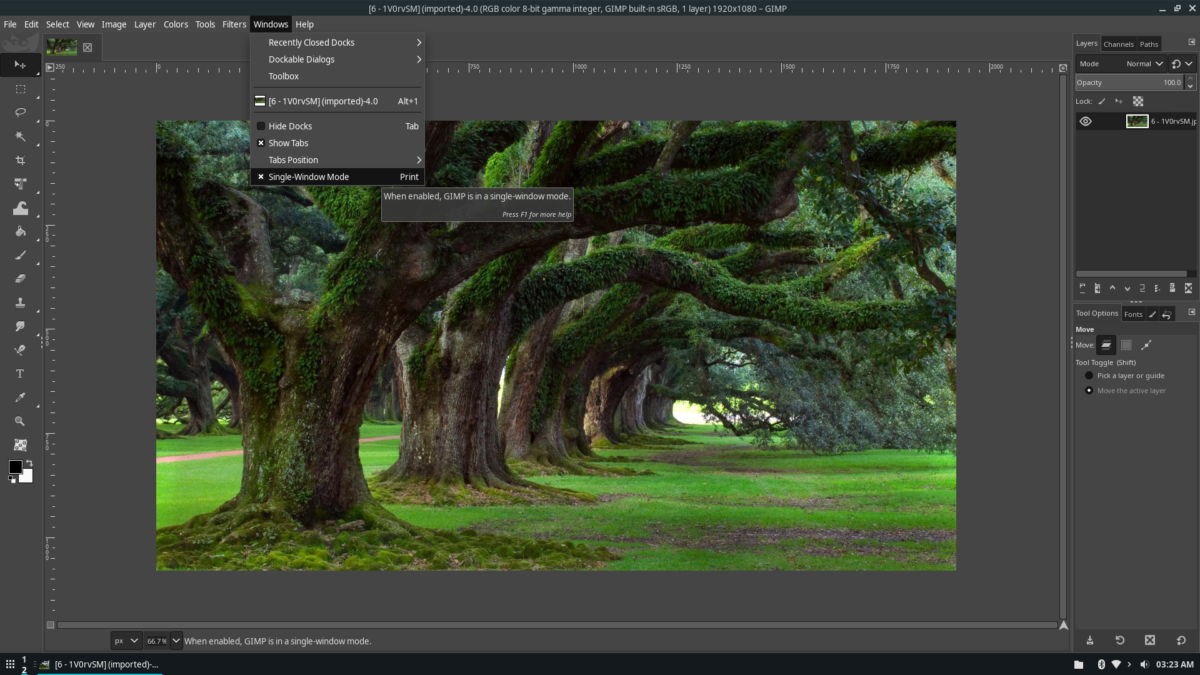 how to make gimp look like adobe photoshop on How to make Gimp look like Adobe Photoshop on Linux
