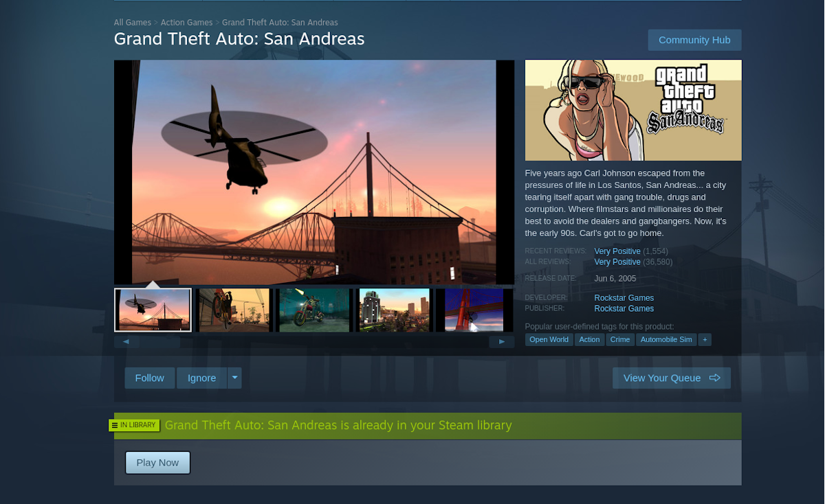 how to play gta san andreas on linux 1 How to play GTA: San Andreas on Linux