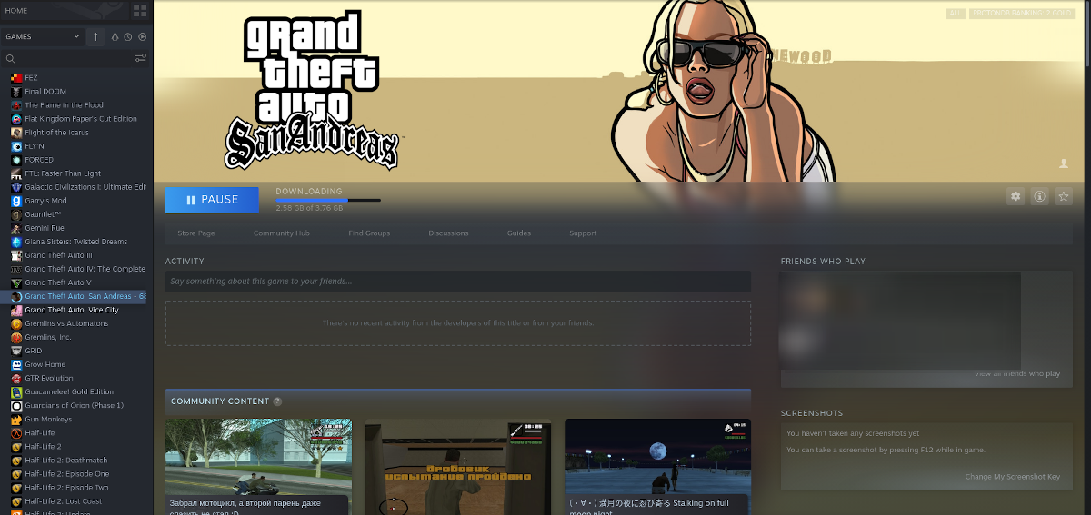 how to play gta san andreas on linux 2 How to play GTA: San Andreas on Linux