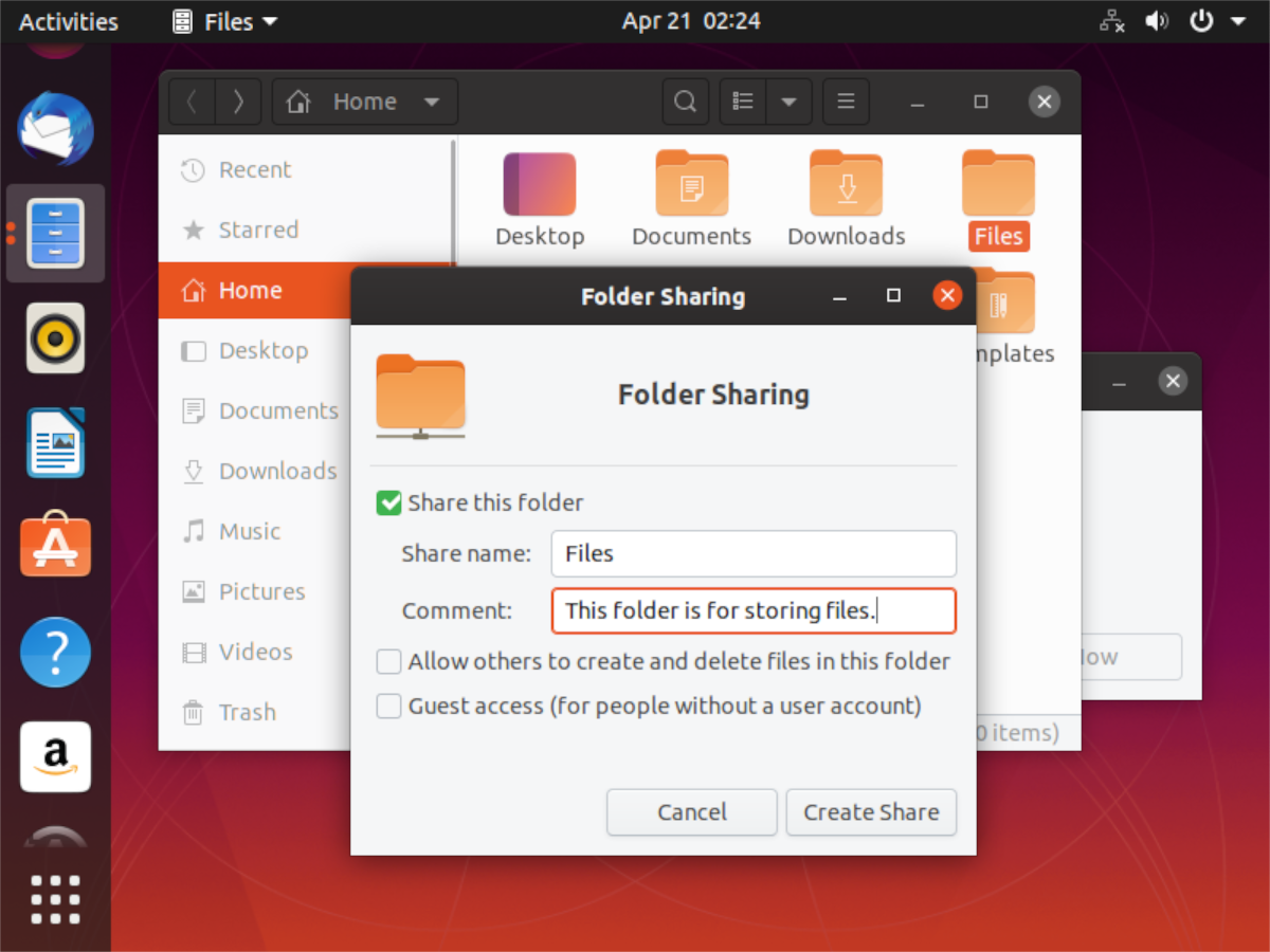 how to share folders from an ubuntu pc to the network 2 How to share folders from an Ubuntu PC to the network