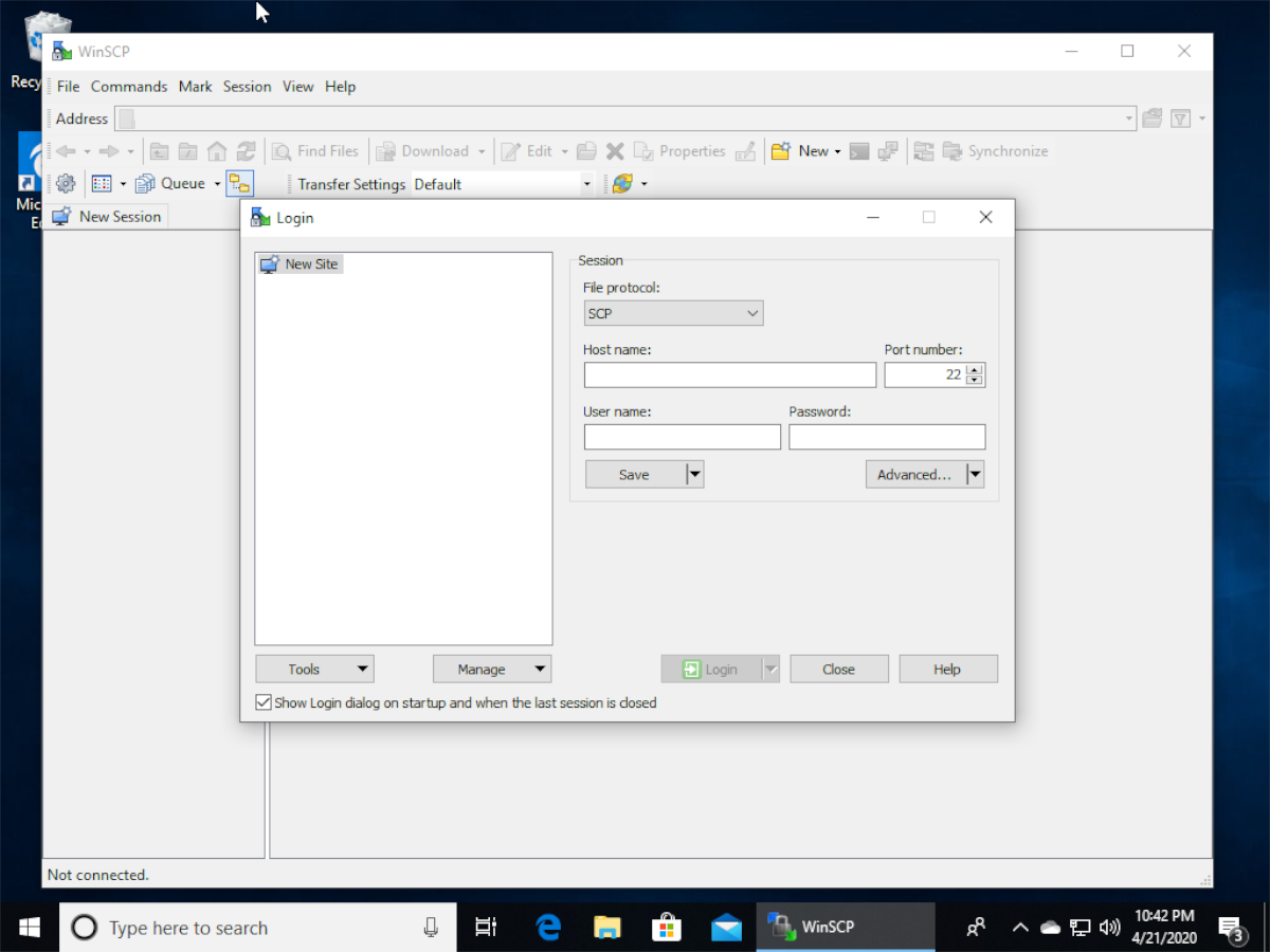 how to transfer files to linux from windows 10 over ssh 1 How to transfer files to Linux from Windows 10 over SSH