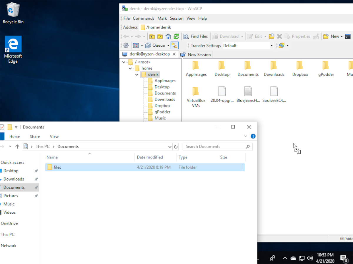 how to transfer files to linux from windows 10 over ssh 5 How to transfer files to Linux from Windows 10 over SSH