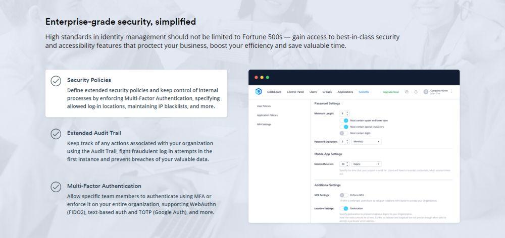 Enterprise-grade security, simplified