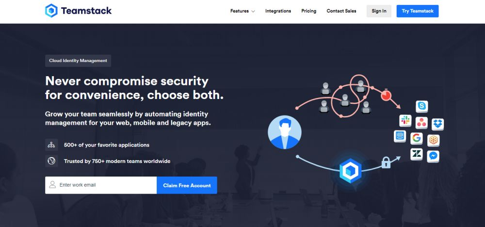 Secure, Cloud-Based Identity Management with Teamstack