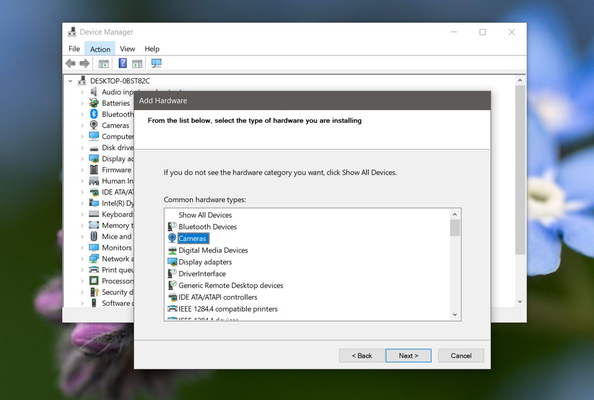 webcam doesnt show up in device manager on windows 10 fix 4 Webcam doesn't show up in Device Manager on Windows 10 (FIX)