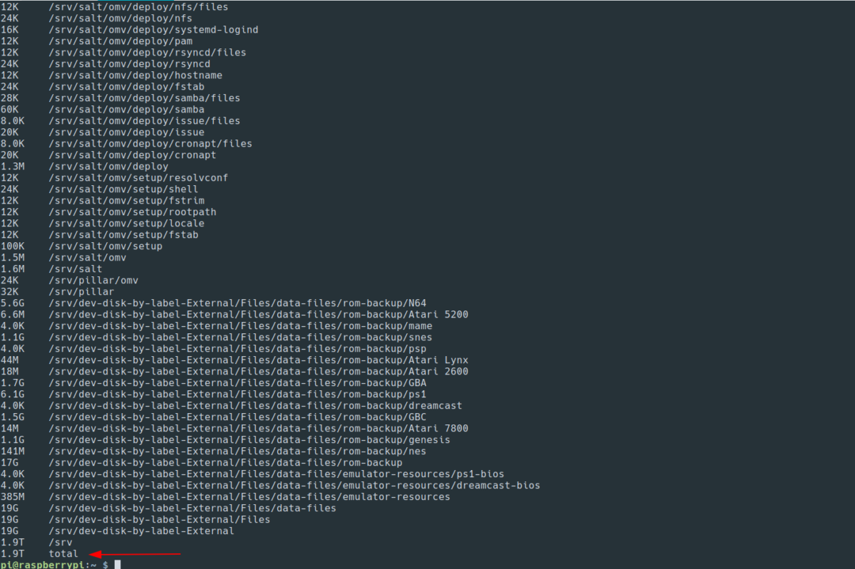 how to analyze disk space usage on linux from the terminal 4 How to analyze disk space usage on Linux from the Terminal