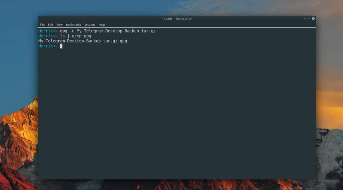 how to back up your telegram settings on linux 2 How to back up your Telegram settings on Linux