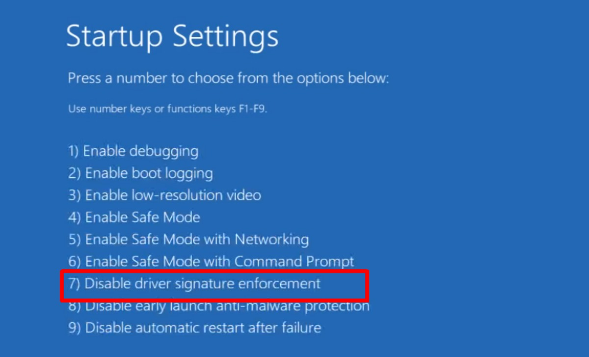 how to disable driver signature enforcement on windows 10 How to Disable Driver Signature Enforcement on Windows 10