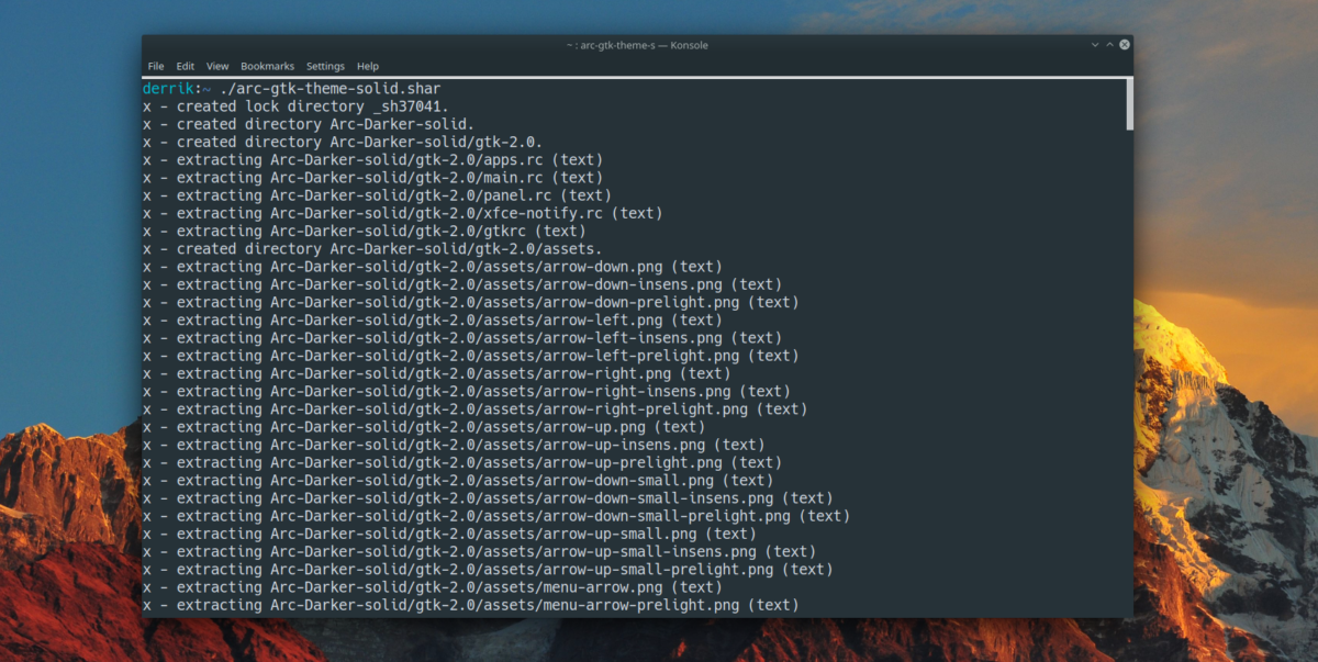 how to make a self extracting archive on linux 2 How to make a self-extracting archive on Linux
