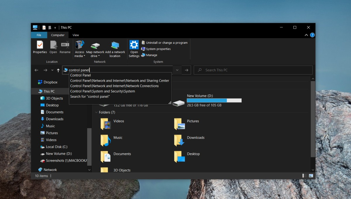 how to open the control panel on windows 10 1 How to open the Control Panel on Windows 10