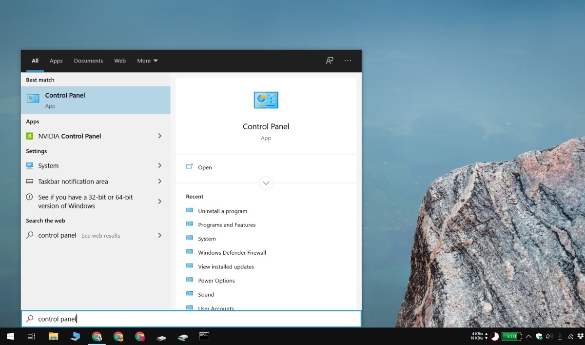 how to open the control panel on windows 10 2 How to open the Control Panel on Windows 10