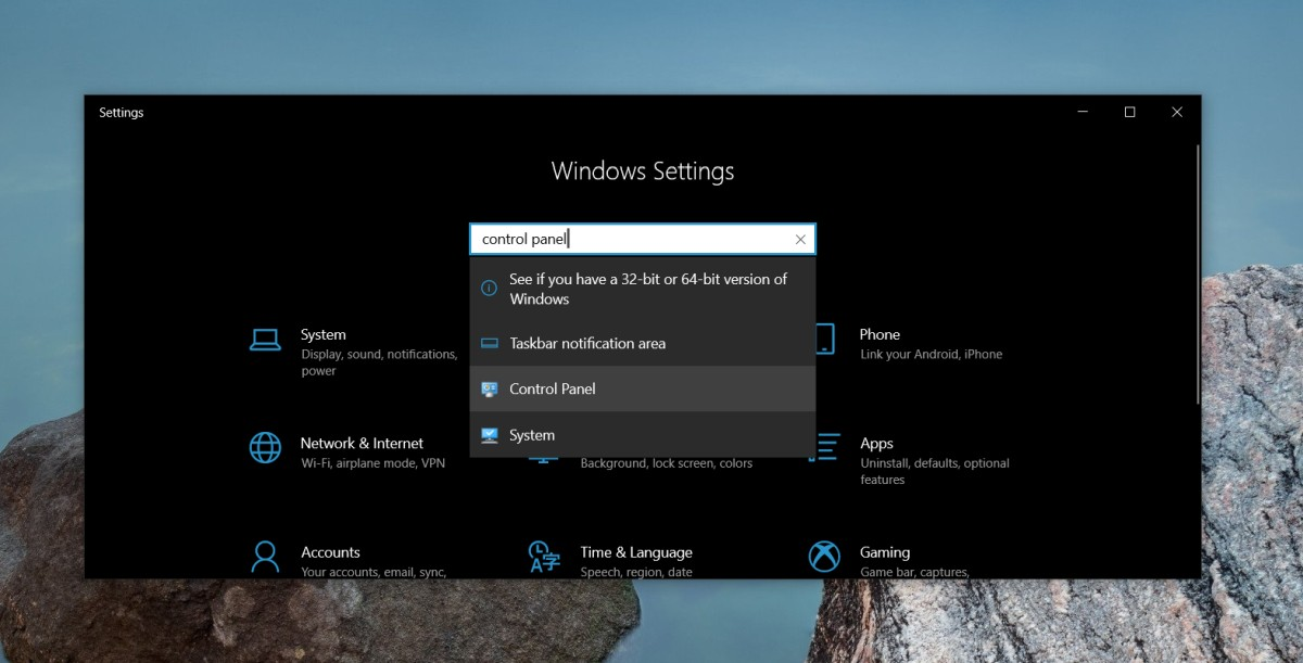 how to open the control panel on windows 10 3 How to open the Control Panel on Windows 10
