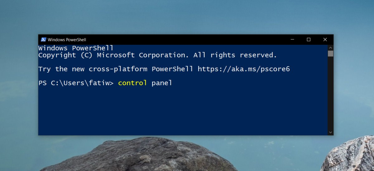 how to open the control panel on windows 10 5 How to open the Control Panel on Windows 10