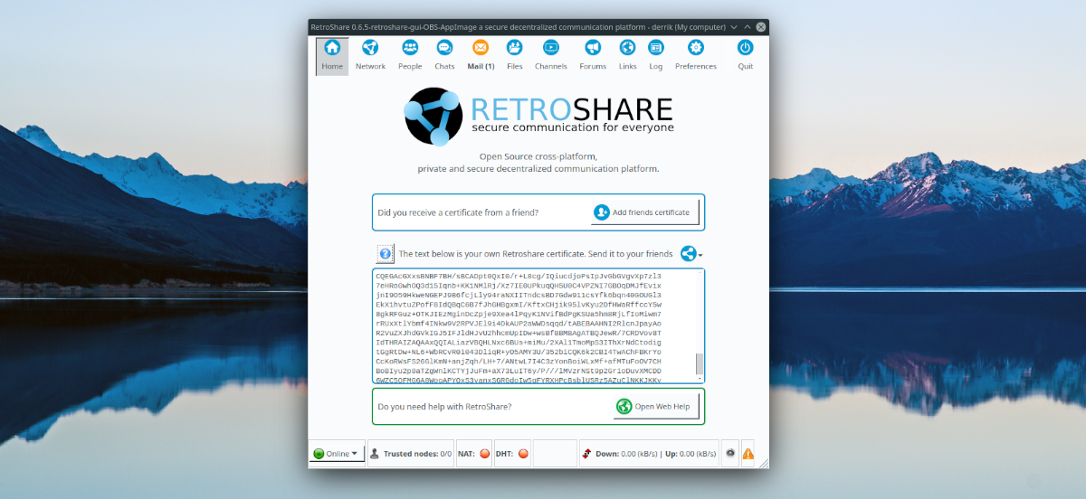 how to set up retroshare on linux 4 How to set up RetroShare on Linux