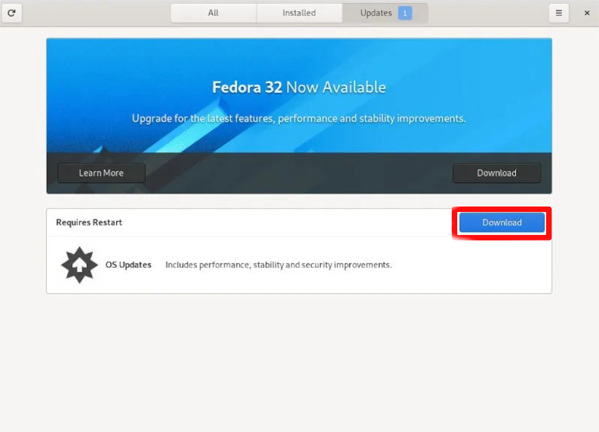 how to upgrade to fedora 32 1 How to upgrade to Fedora 32