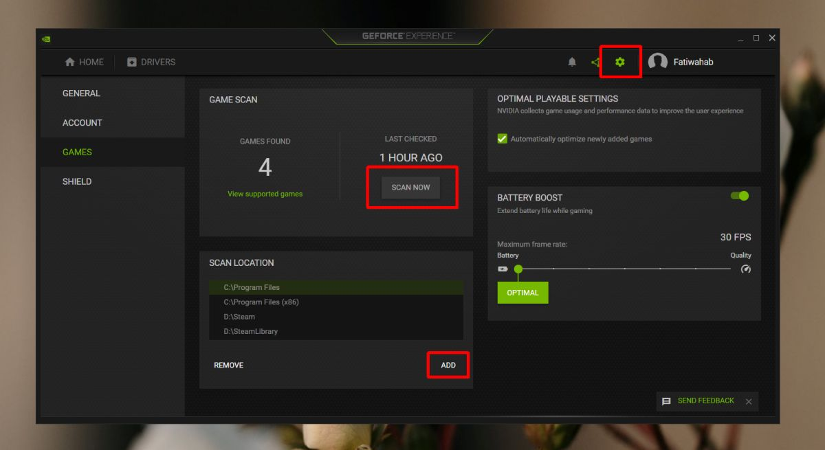 how to add games to geforce experience on windows 10 1 How to add games to GeForce Experience on Windows 10