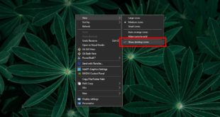how to automatically hide desktops icons on windows 10 How to automatically hide desktops icons on Windows 10