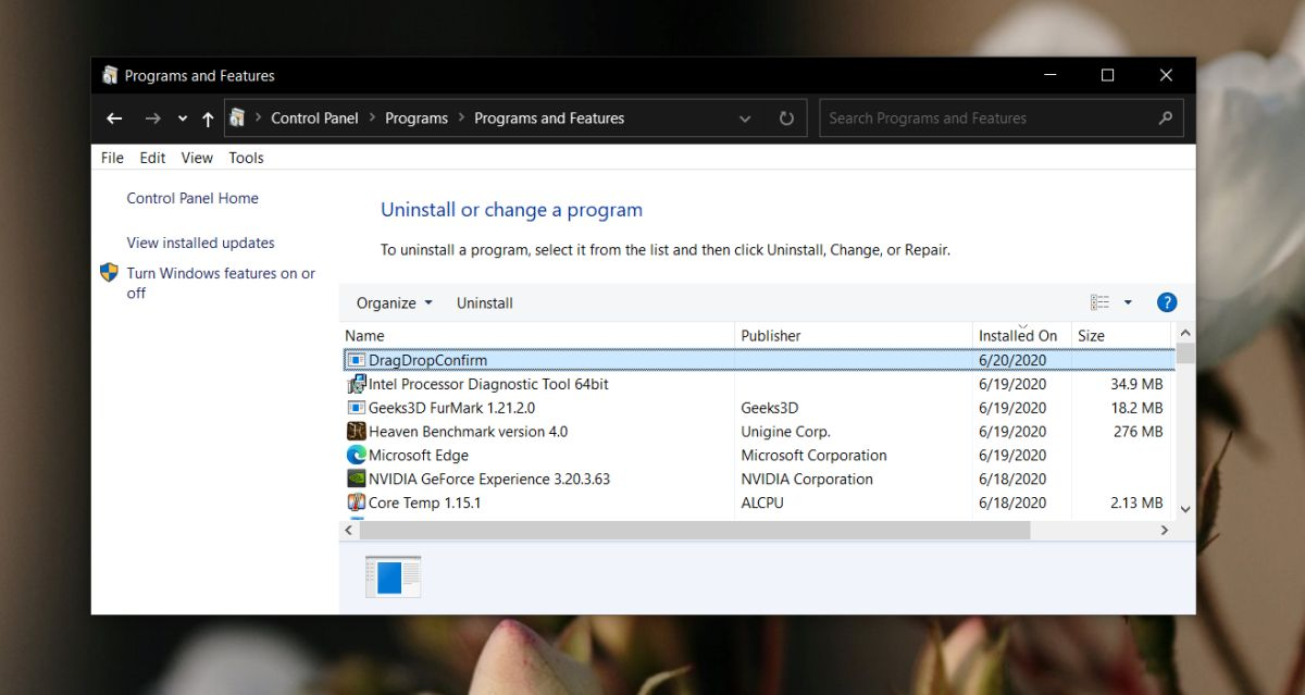 how to confirm file folder move on drag drop on windows 10 2 How to confirm file/folder move on drag & drop on Windows 10