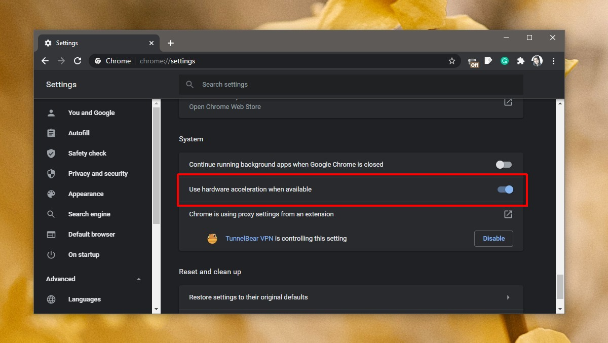 how to disable hardware acceleration chrome How to disable hardware acceleration Chrome