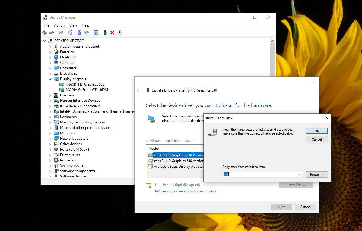 how to fix the driver being installed is not validated for this computer on windows 10 1 How to fix 'The driver being installed is not validated for this computer' on Windows 10