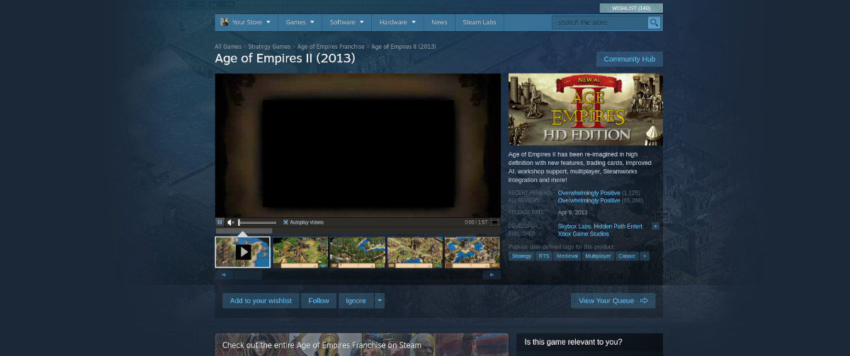 how to play age of empires ii 2013 on linux 2 How to play Age of Empires II (2013) on Linux