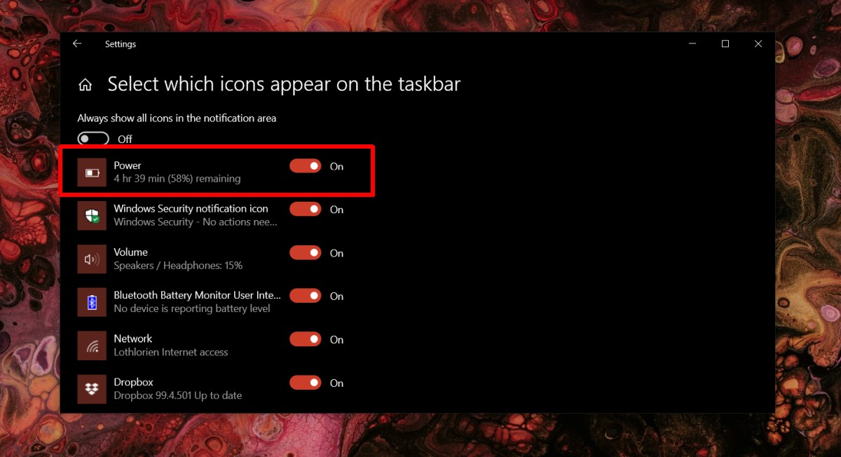 battery icon missing in windows 10 heres how to fix it 1 Battery Icon Missing in Windows 10, Here's How to Fix It
