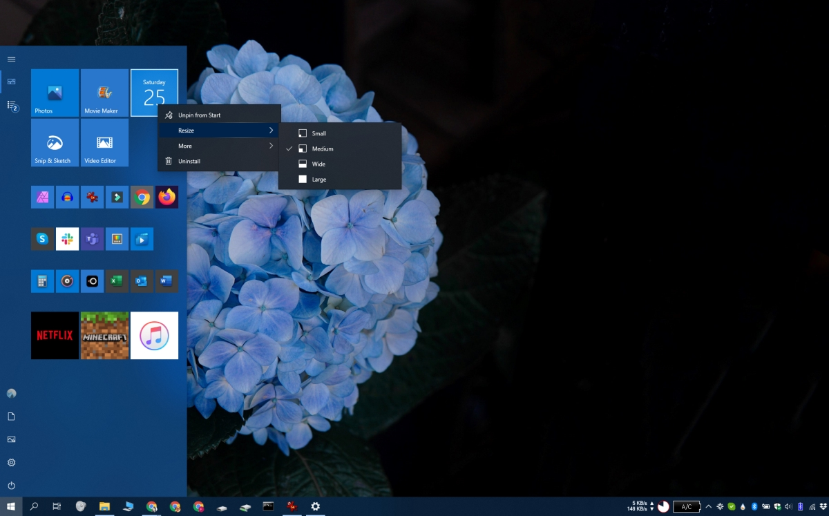 how to change the windows 10 start menu 5 How to change the Windows 10 Start menu