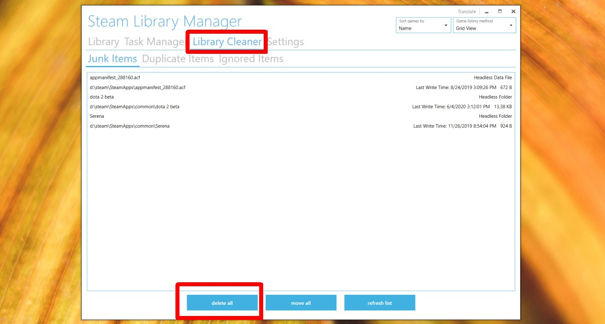 how to clean the steamlibrary folder on windows 10 How to clean the SteamLibrary folder on Windows 10