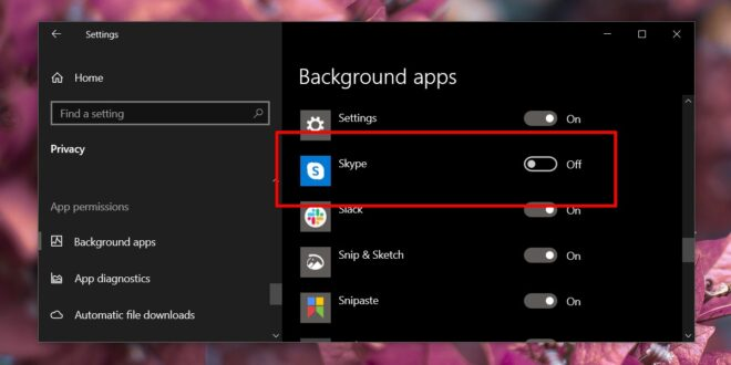 How to disable Skype on startup on Windows 10