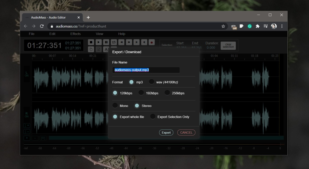 how to edit audio in the browser 1 How to edit audio in the browser