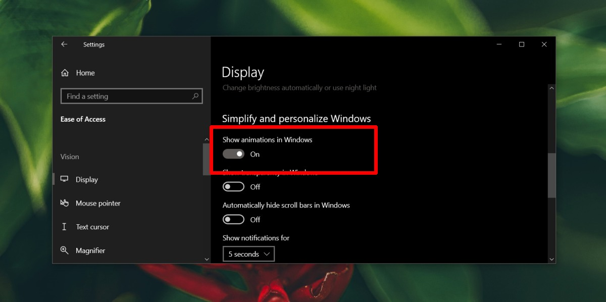 how to enable disable screenshot flash on windows 10 1 How to enable/disable screenshot flash on Windows 10