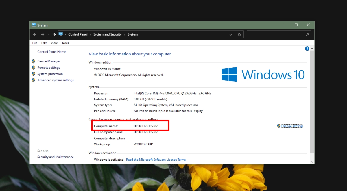 how to find the computer name on windows 10 1 How to find the Computer name on Windows 10