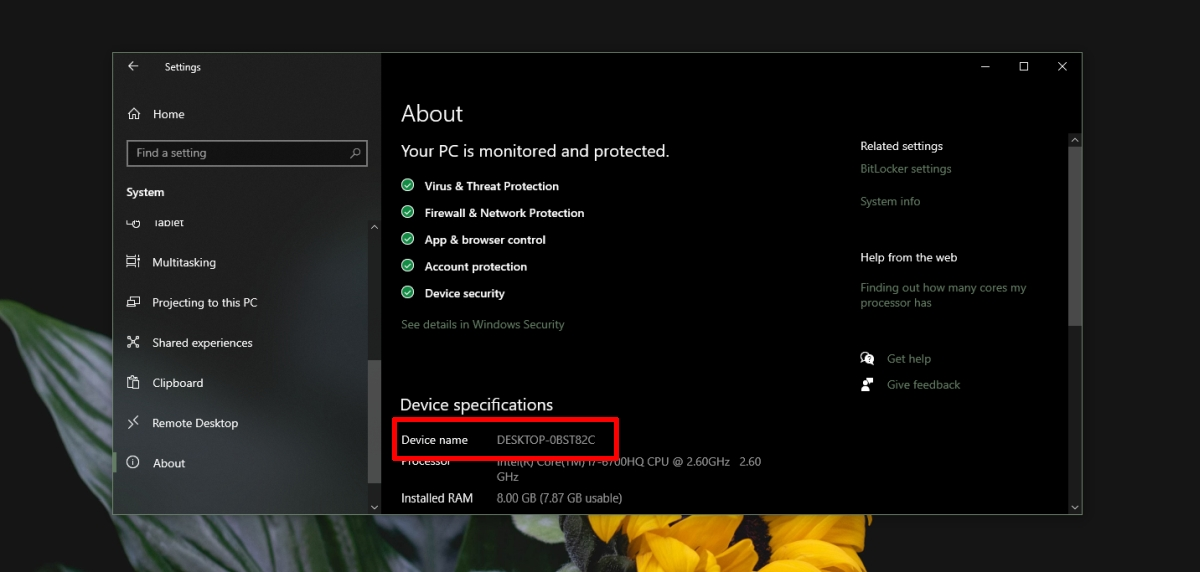 how to find the computer name on windows 10 2 How to find the Computer name on Windows 10