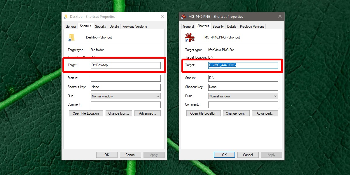 how to find the original file for a shortcut on windows 10 How to find the original file for a shortcut on Windows 10