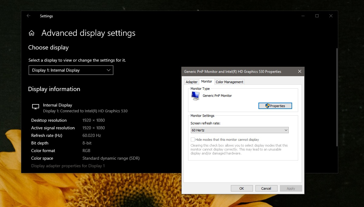 how to fix screen tearing on windows 10 and in games 3 How to Fix Screen Tearing on Windows 10 and in Games