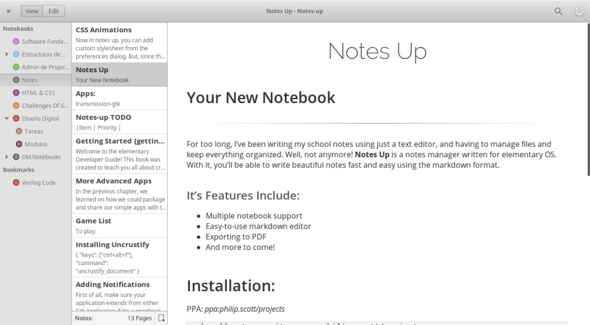 how to install the notes up note app on linux 1 How to install the Notes-Up note app on Linux