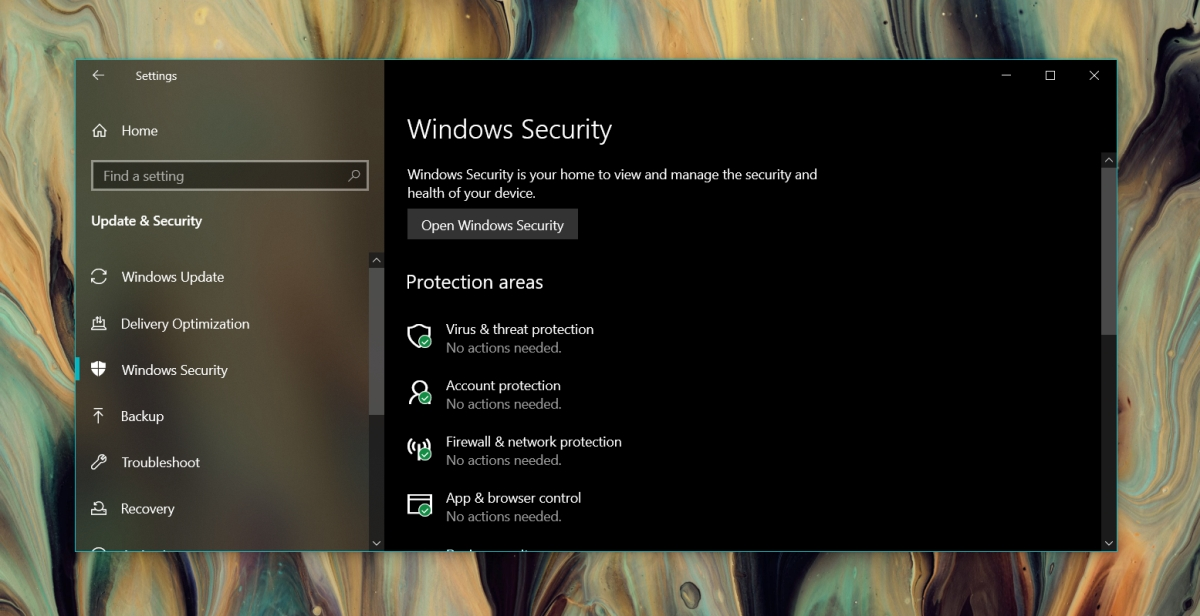 how to open windows defender on windows 10 2 How to open Windows Defender on Windows 10