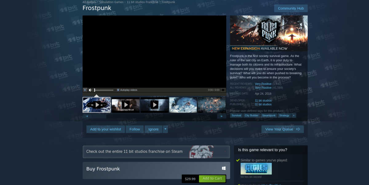how to play frostpunk on linux 2 How to play Frostpunk on Linux