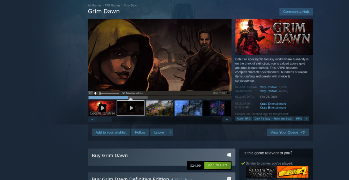 how to play grim dawn on linux 3 How to play Grim Dawn on Linux