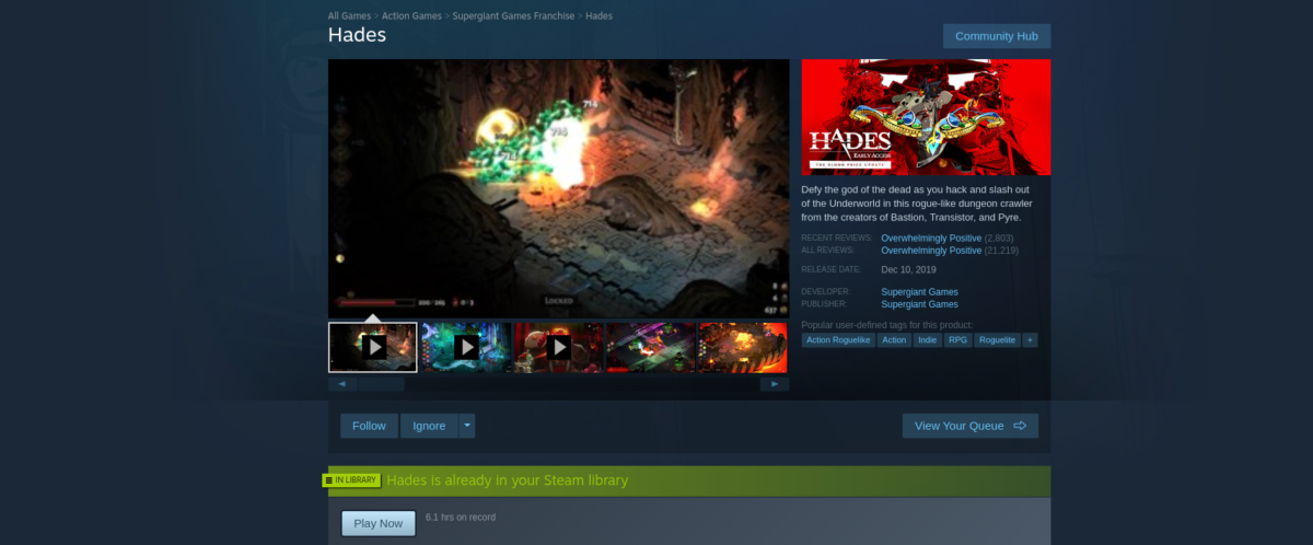how to play hades on linux 2 How to play Hades on Linux