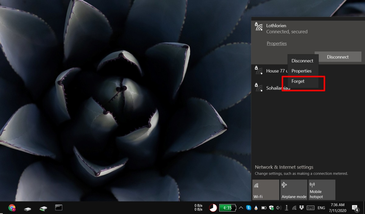 how to remove a wifi network on windows 10 How to remove a WiFi network on Windows 10