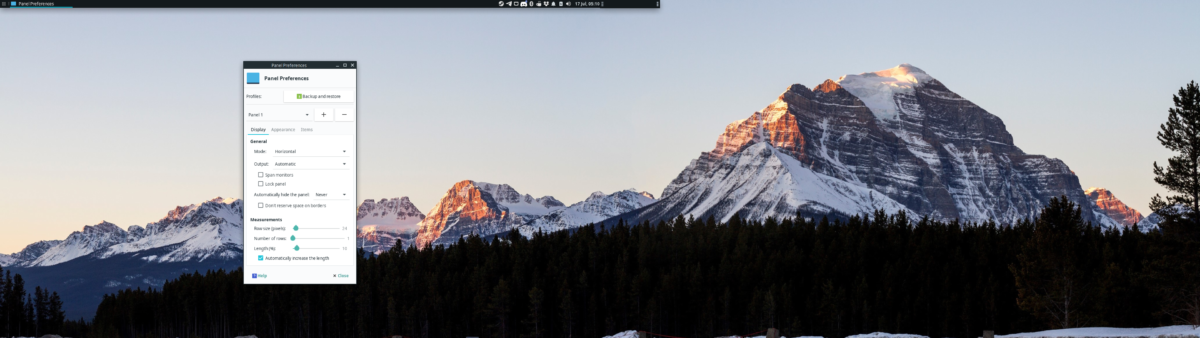 how to set up dual panels on xfce 4 2 How to set up dual panels on XFCE 4