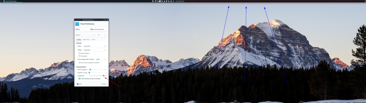 how to set up dual panels on xfce 4 3 How to set up dual panels on XFCE 4