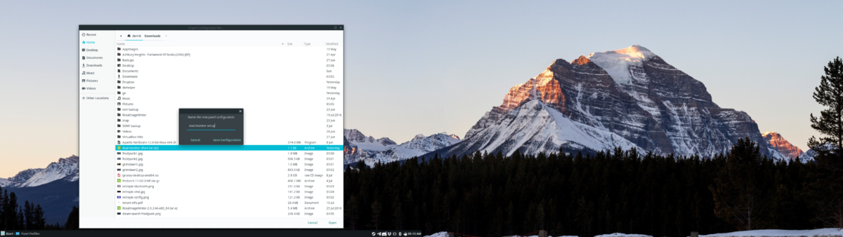 how to set up dual panels on xfce 4 6 How to set up dual panels on XFCE 4